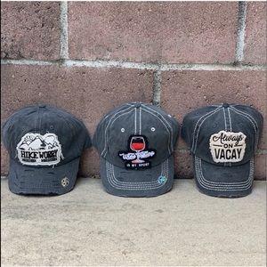 Distressed Slogan Baseball Caps 💕